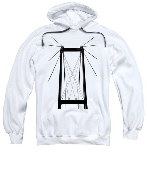 Cable Bridge Abstract Sweatshirt