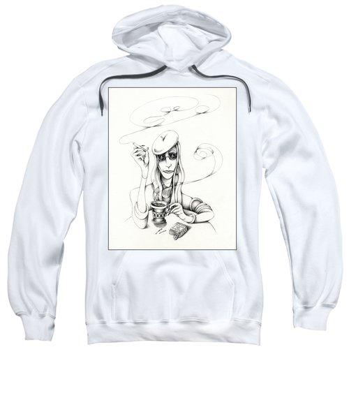 Cafe Lady Sweatshirt