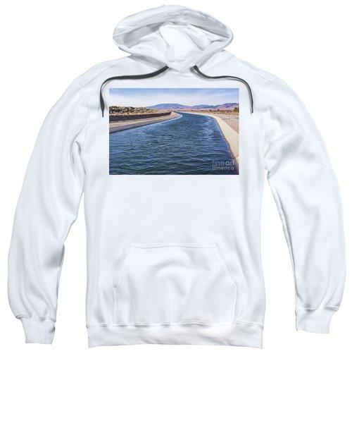 California Aqueduct S Curves Sweatshirt