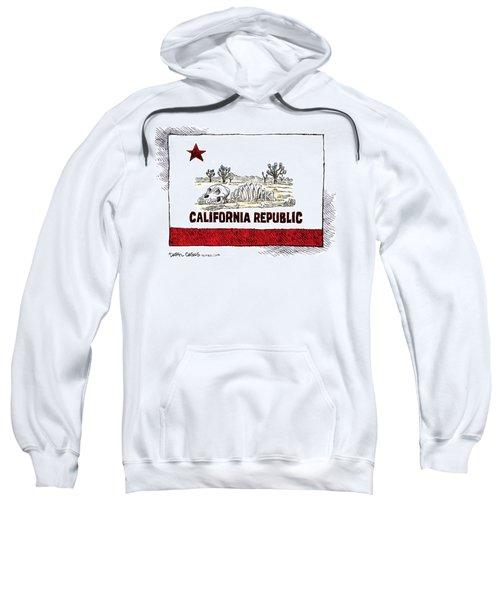 California Drought Sweatshirt