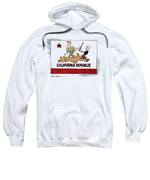 California Governor Handoff Sweatshirt