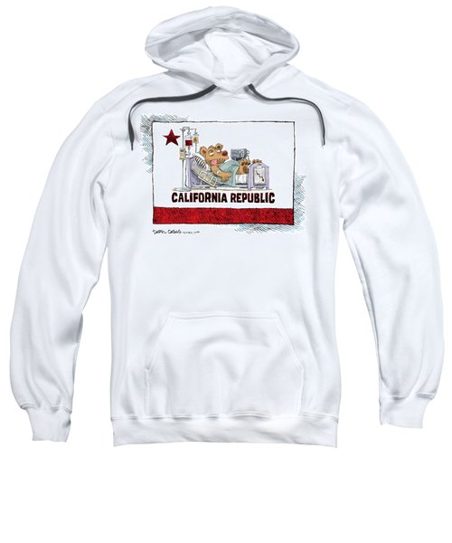California Is Sick Sweatshirt