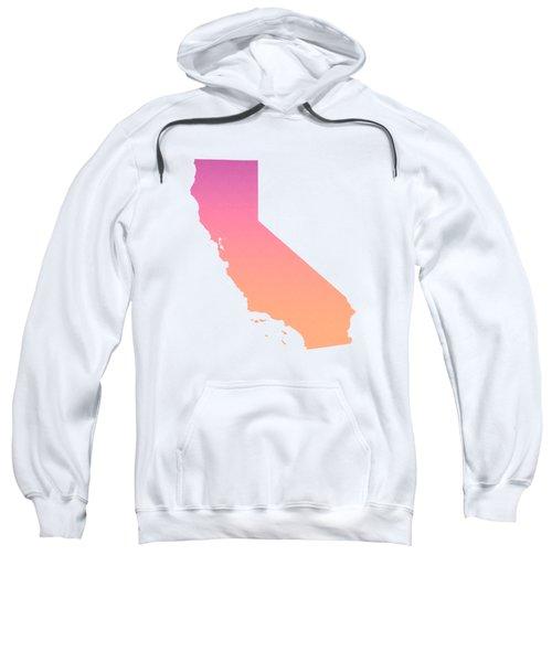 California Summer Ombre Sweatshirt