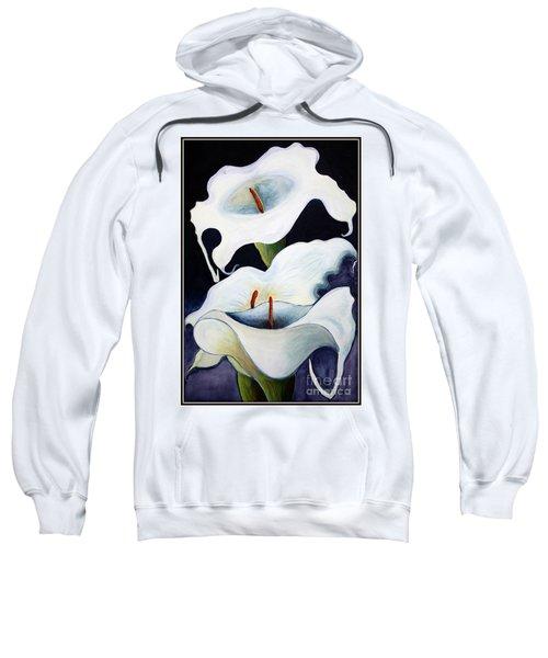 Calla Lilies.. Sweatshirt