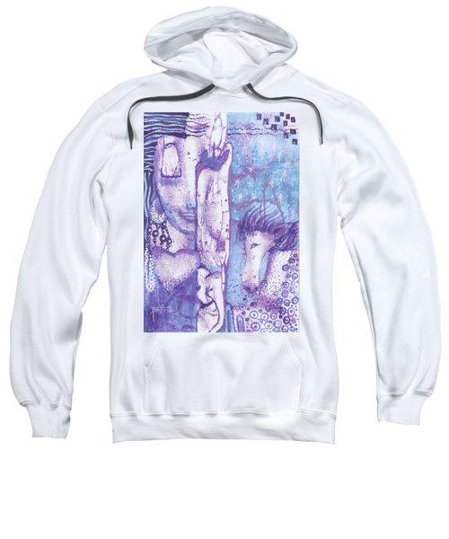 Calling Upon Spirit Animals Sweatshirt