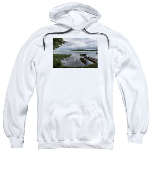 Camelot Island From Wilderness Point Sweatshirt by Gary Eason