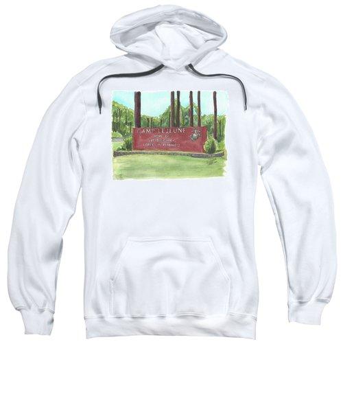 Camp Lejeune Welcome Sweatshirt