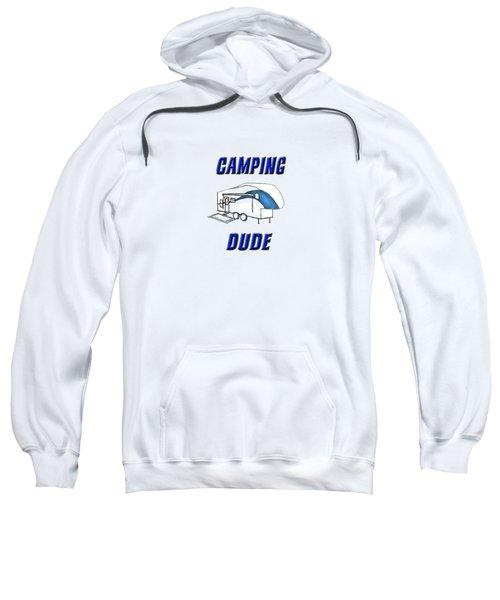 Camping Dude Sweatshirt