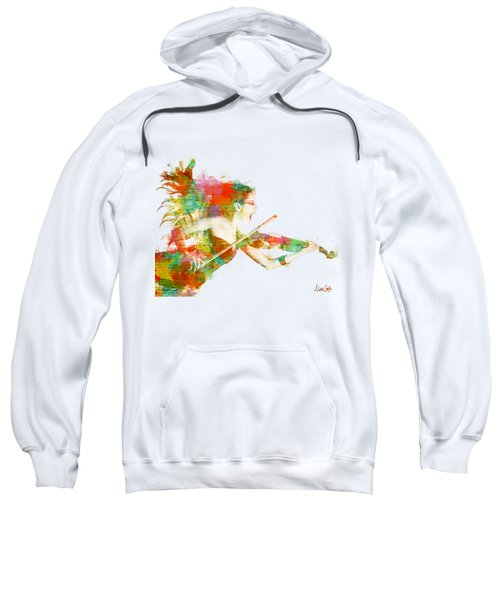 Can You Hear Me Now Sweatshirt by Nikki Smith