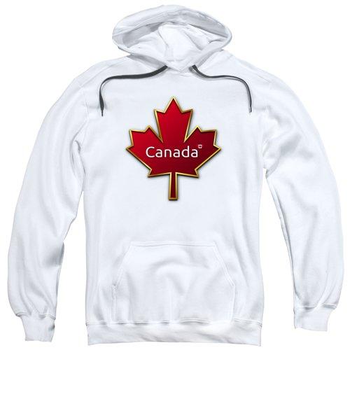 Canada Red Leaf Sweatshirt