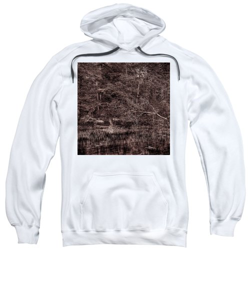 Canoe In The Adirondacks Sweatshirt