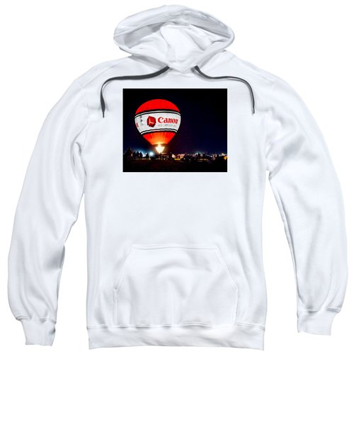 Canon - See Impossible - Hot Air Balloon Sweatshirt