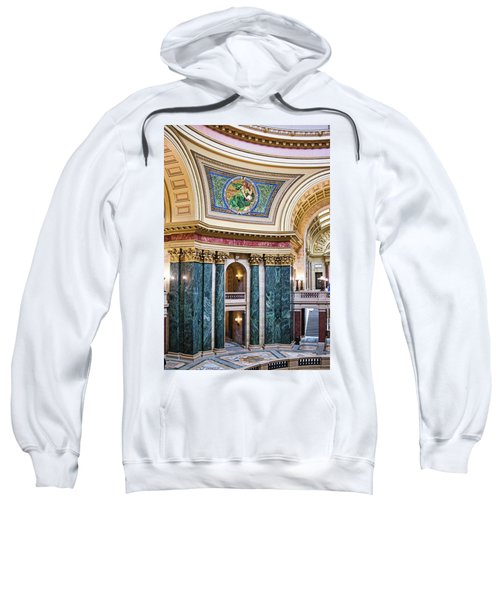 Capitol Rotunda -madison - Wisconsin Sweatshirt