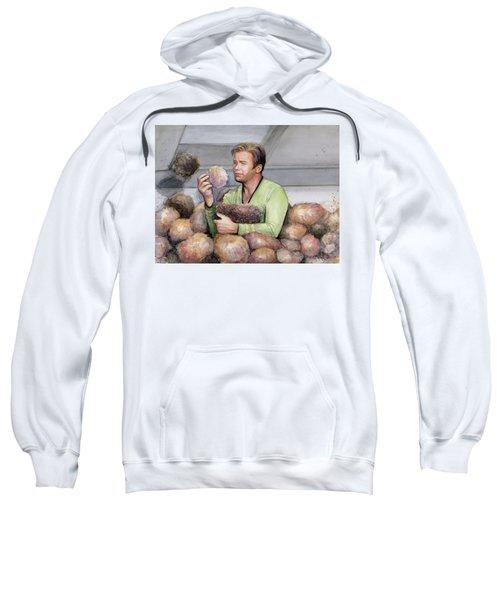 Captain Kirk And Tribbles Sweatshirt