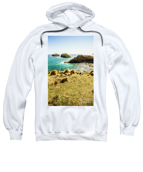 Captivating Coastal Cliff Sweatshirt