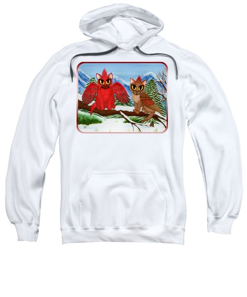 Cardinal Cats Sweatshirt