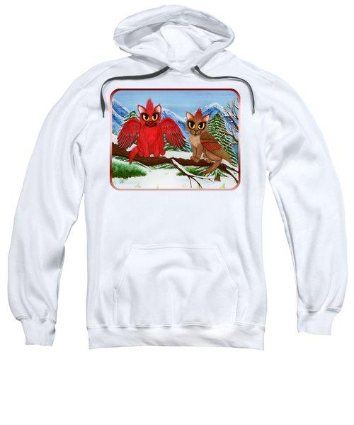 Cardinal Cats Sweatshirt