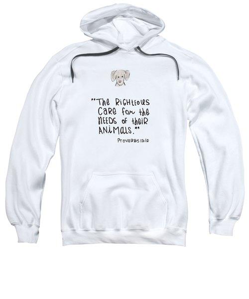 Care For Animals Sweatshirt