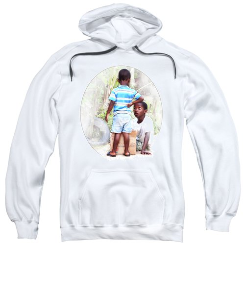 Caribbean Kids Illustration Sweatshirt