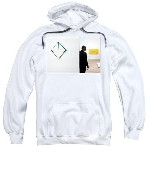 Carmen Herrera At The Whitney 1 Sweatshirt