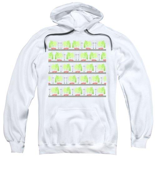 Cars And Trees Sweatshirt