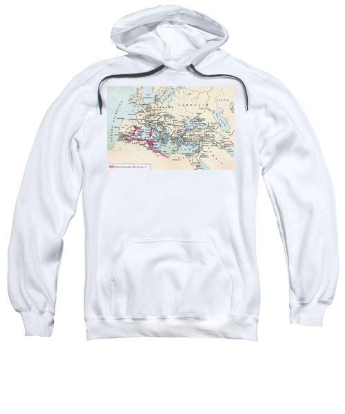 Carthaginian Colonies And Area Of Sweatshirt