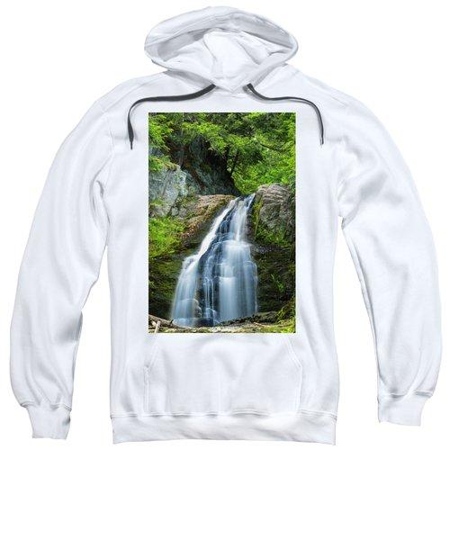 Cascade Falls In South Portland In Maine Sweatshirt