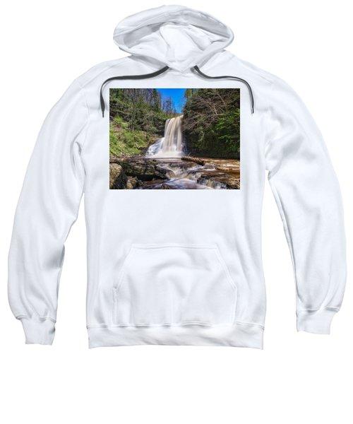 Cascade Falls In Spring Sweatshirt