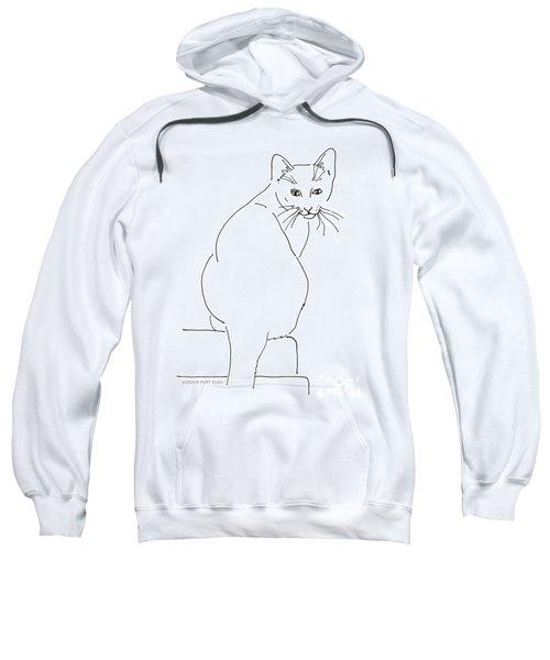 Cat-artwork-prints Sweatshirt