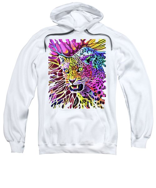 Cat Beauty Sweatshirt by Anthony Mwangi