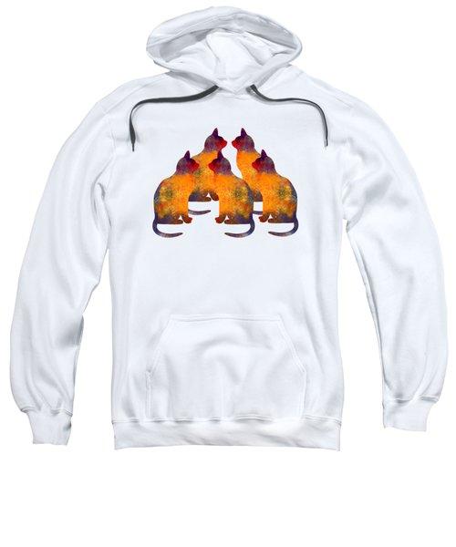 Cat Pyramid Sweatshirt
