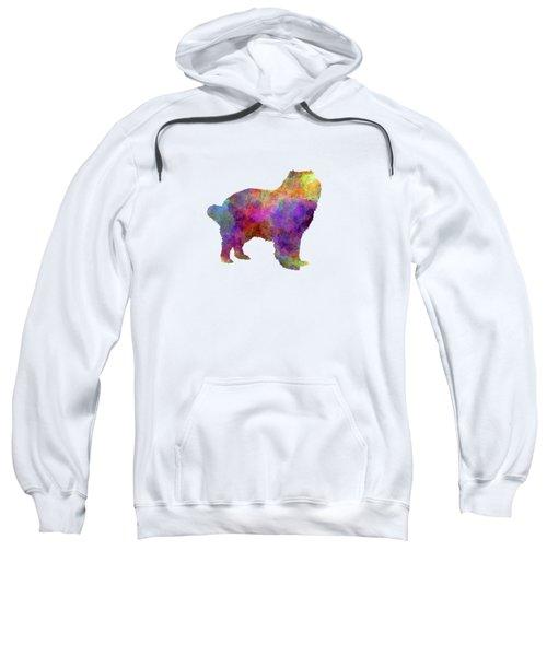 Caucasian Shepherd Dog In Watercolor Sweatshirt