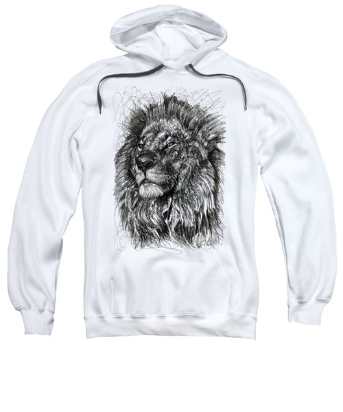Cecil The Lion Sweatshirt by Michael  Volpicelli