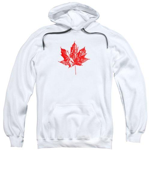 Celebrate Canada 150 Maple Leaf Sweatshirt