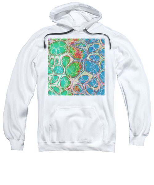 Cell Abstract 10 Sweatshirt