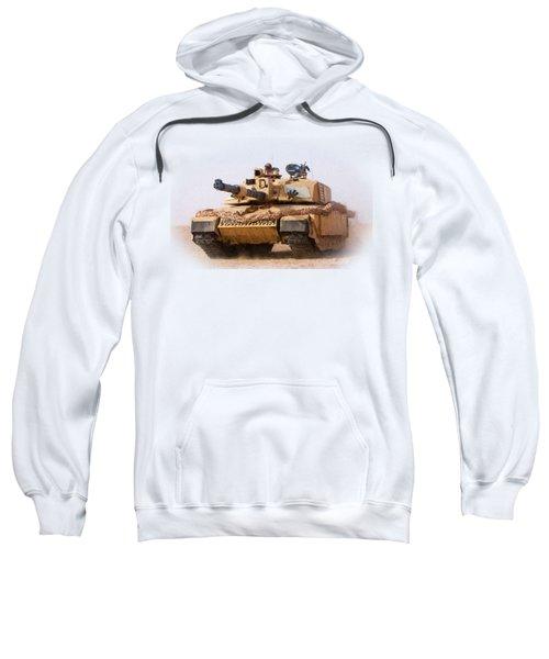 Challenger Tank Painting Sweatshirt