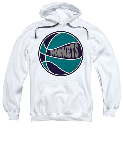 Charlotte Hornets Retro Shirt Sweatshirt by Joe Hamilton