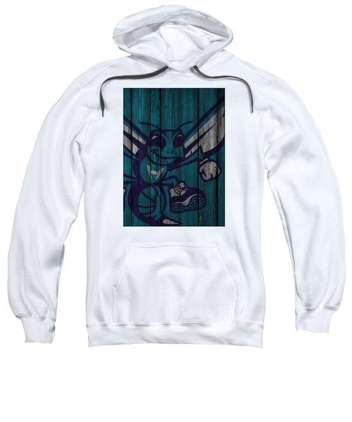 Charlotte Hornets Wood Fence Sweatshirt