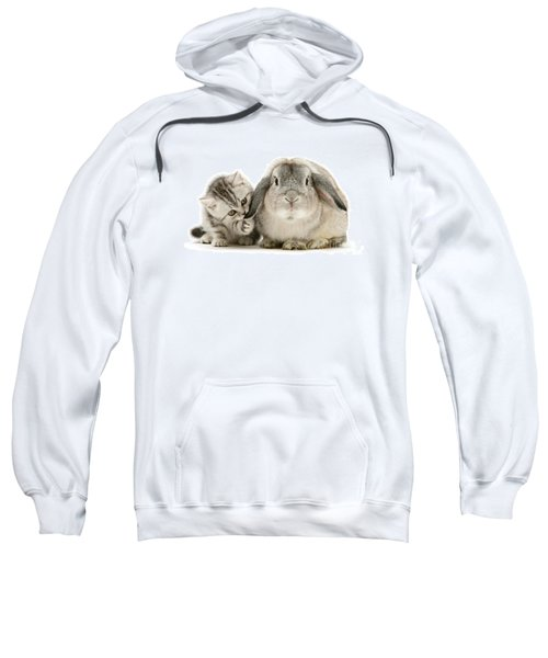 Checking For Grey Hares Sweatshirt