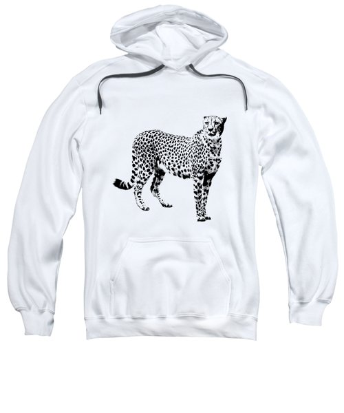 Cheetah Cutout Sweatshirt by Greg Noblin
