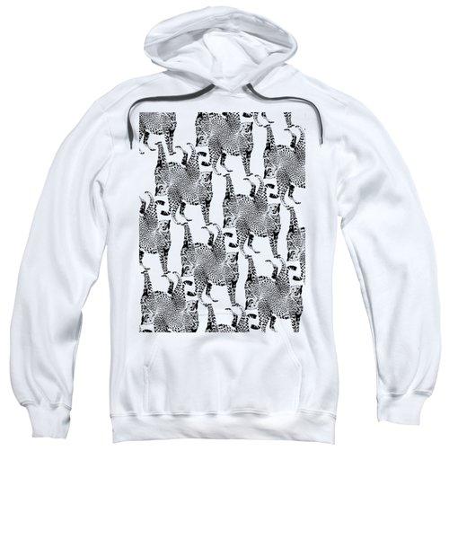 Cheetah Pattern Sweatshirt by Greg Noblin