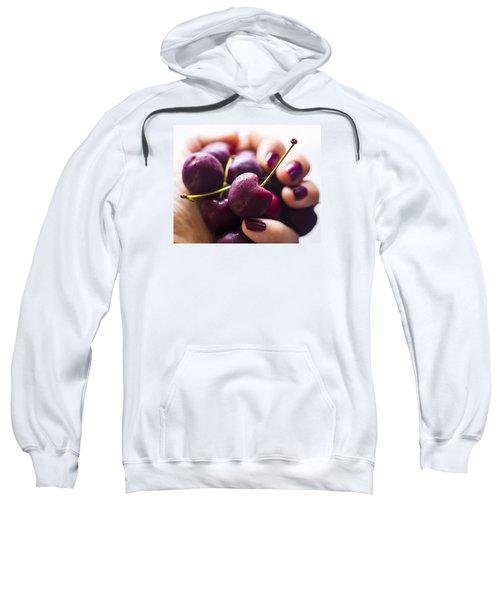 Cherry Bomb Sweatshirt by Nicole English