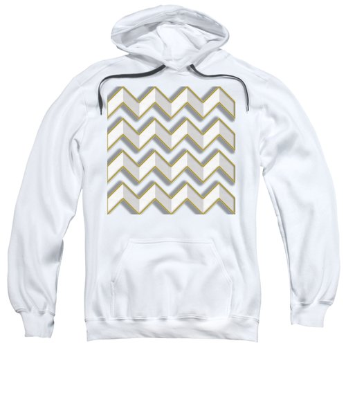 Chevrons - Gold Edges Sweatshirt