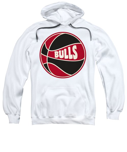 Chicago Bulls Retro Shirt Sweatshirt by Joe Hamilton
