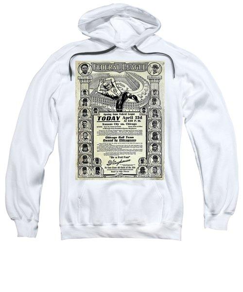 Chicago Cub Poster Sweatshirt