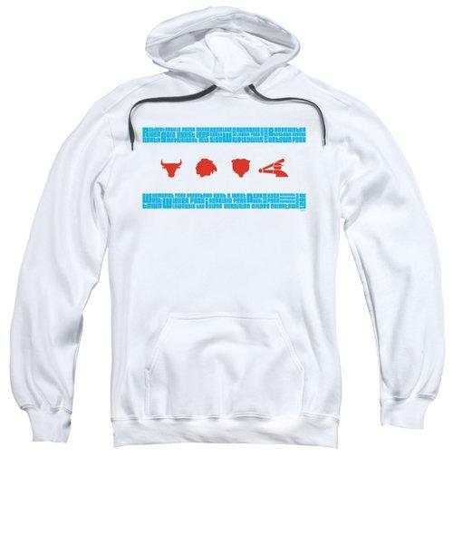 Chicago Flag Sports Teams V2 Sweatshirt