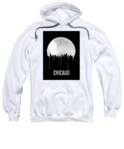 Chicago Skyline Black Sweatshirt