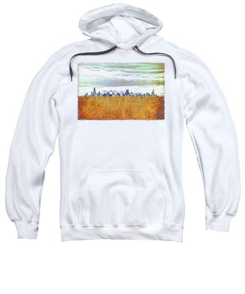 Chicago Skyline Sweatshirt by Di Designs