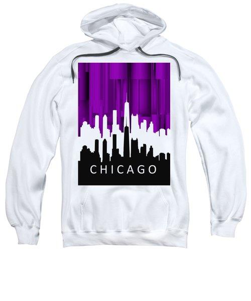 Chicago Violet In Negative Sweatshirt