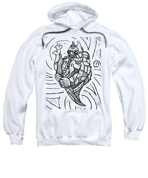 Chicken Master Sweatshirt by Sotuland Art